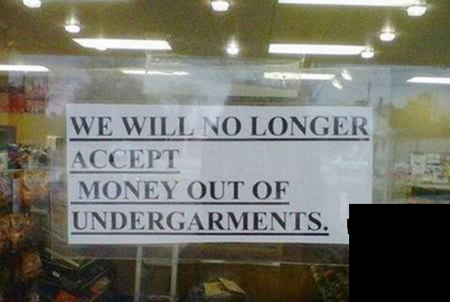 The Funniest Signs You've Never Read! - Image 12